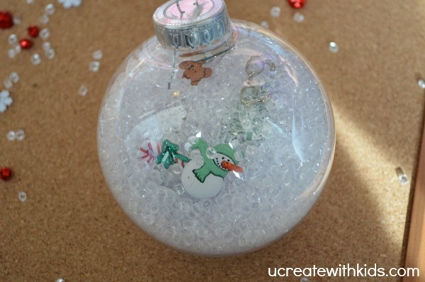 I Spy Christmas Ornament tutorial 6