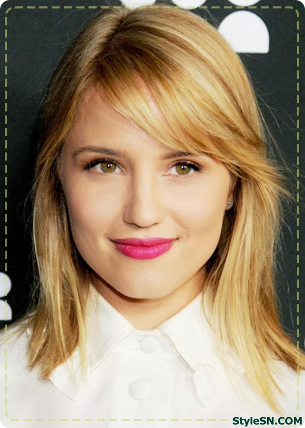 Hairstyles For Long Hair Growing Out Bangs : Hairstyles for growing out bangs 2014