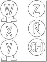 alfabeto gusanito (v) 1