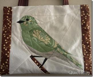 Fandango bird tote