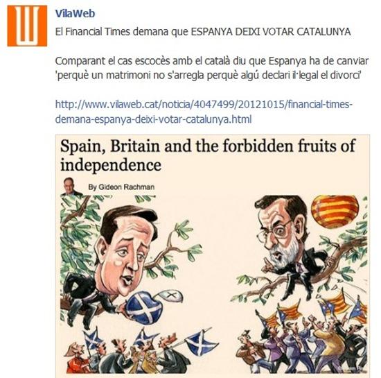 Vilaweb Escòcia Catalunya