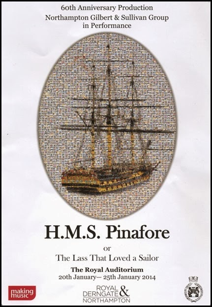HMS Pinafore Brochure