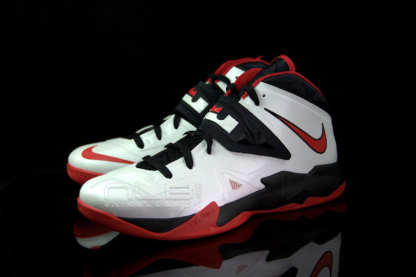 The Showcase Nike Zoom Soldier 7 8220Miami Heat8221 Home