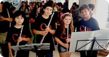 Los villancicos fueron interpretados por la Orquesta Escuela de Santa teresita y San Vlemente