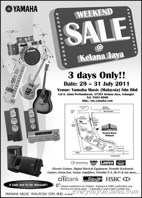 Yamaha-Weekend-Sales-2011-EverydayOnSales-Warehouse-Sale-Promotion-Deal-Discount