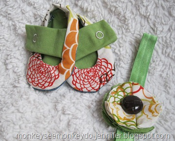 baby shoes and headband (5)