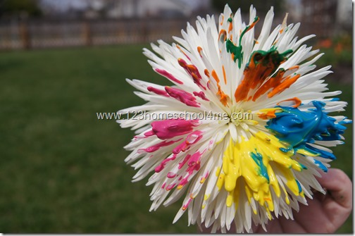 Summer Flower Painting kids Craft