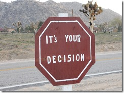 itsyourdecision
