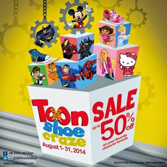 SM Toon Shoe Craze