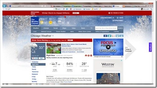 Chicago Weather, Current Conditions and Temperature - weather.com - Windows Internet Explorer 352013 110227 AM