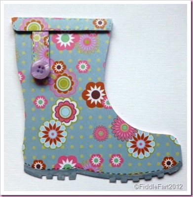 Wellington Boot Card.