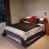 The Bedroom at Steeples Cottage - Cape Foulwind, New Zealand
