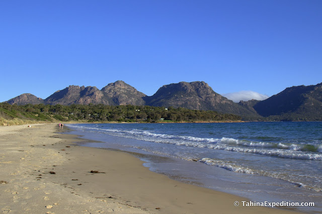 Beach at Freycinet National Park