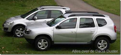 Dacia Duster vs Suzuki SX4 04