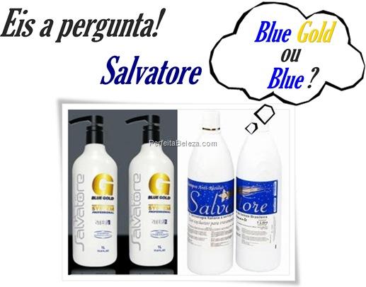 Salvatore Blue x  Salvatore Blue Gold