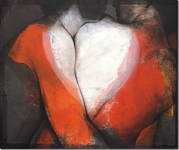 coeur endeux-Etienne Gros-ENKAUSTIKOS