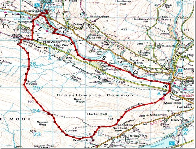 teesdale fellwalk