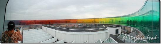 panorama regnbue