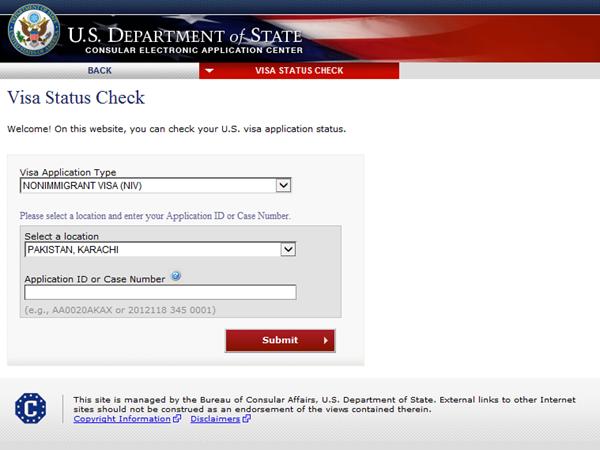 visa status check us department of state