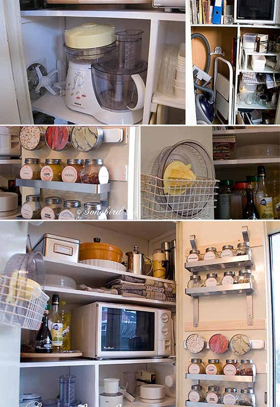Songbird Kitchen Pantry Makeover