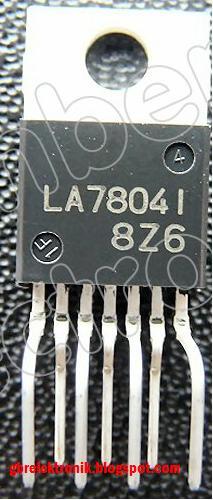 rangkaian ic la78041