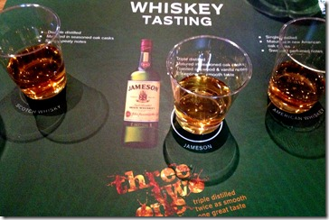 Old-Jameson-Distillery-tour-Dublin-Ireland-comparative-tasting-007