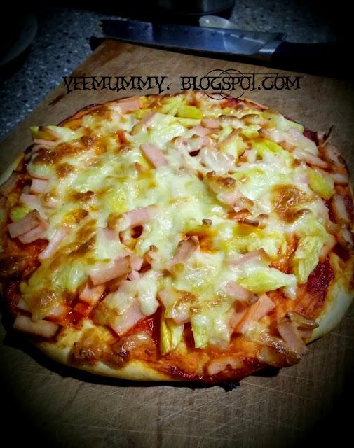 黄梨火腿披萨 Pipeapple Ham Pizza