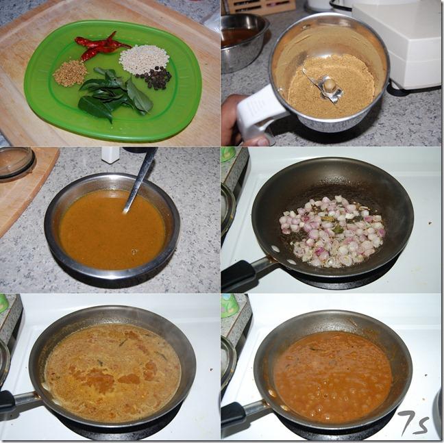 Venthaya puli kuzhambu process