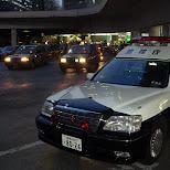 japanese police car at shinjuku station in Chiba, Tokyo, Japan