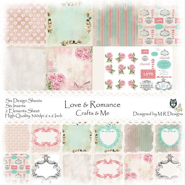 Love & Romance Front Sheet