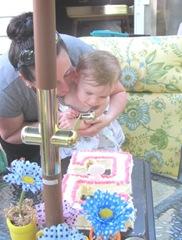 5.19.12 Bella 2nd birthday party robin bella cake7