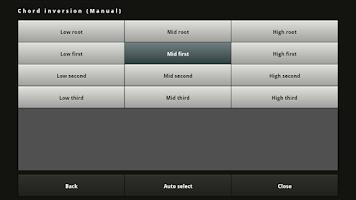 Screenshot of Chordbot Lite