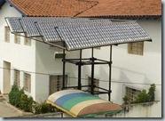 Colector solar gratis