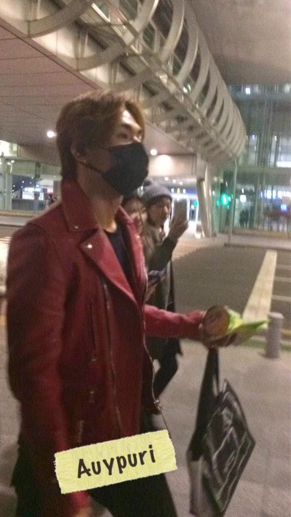 Dae Sung & TOP - Incheon Airport - 01jan2015 - Dae Sung - AuYPuri - 01.jpg