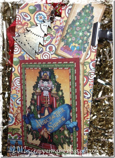 closeup of nutcracker w border