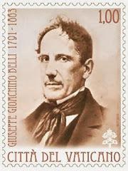 Poste Vaticane 150.o scomparsa GG Belli francobollo 2013