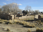 One of the towns we passed through, houses made of mud bricks and looking a bit abandoned.