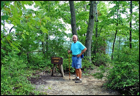 11 - Lover's Leap Why is this man smiling