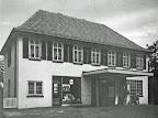 Bahnhofstr. 92(?). M. Bühring, aus: H. Siewert Rund um den Scharmbecker Marktplatz - damals. Verl. H. Saade, 1983.