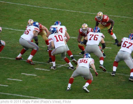 'NY Giantson Offense' photo (c) 2011, Rajiv Patel (Rajiv's View) - license: http://creativecommons.org/licenses/by-nd/2.0/