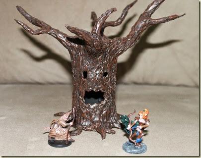 Árvore e miniaturas 005