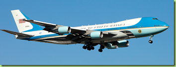 airforce one flipped