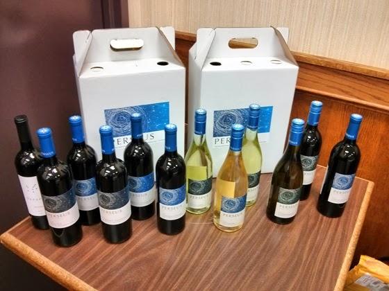 Perseus Raffle Wines