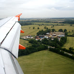 easyjet take off in London, London City of, United Kingdom