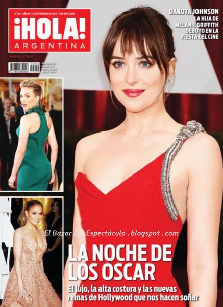 Wanda nara y mauro icardi en revista hola argentina 25 for Revistas del espectaculo