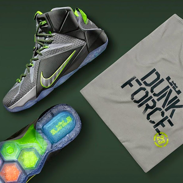 Release Reminder Nike LeBron XII 8220Dunk Force8221