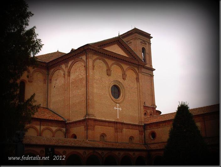 La chiesa di San Cristoforo ( fianco destro ), Ferrara, Emilia Romagna, Italia - The church of San Cristoforo ( right side ), Ferrara, Emilia Romagna, Italy - Property and Copyrights of www.fedetails.net