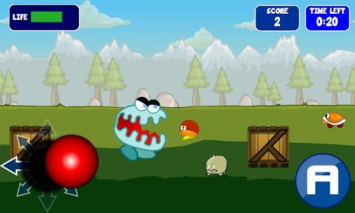 Angry Monster - screenshot