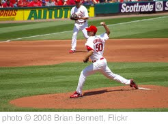 'Adam Wainwright Delivers' photo (c) 2008, Brian Bennett - license: http://creativecommons.org/licenses/by-nd/2.0/
