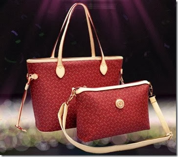 ID 3067 2 in 1 BAGS (274.000) - PU Leather, B 35x29x15, S 28x19x10